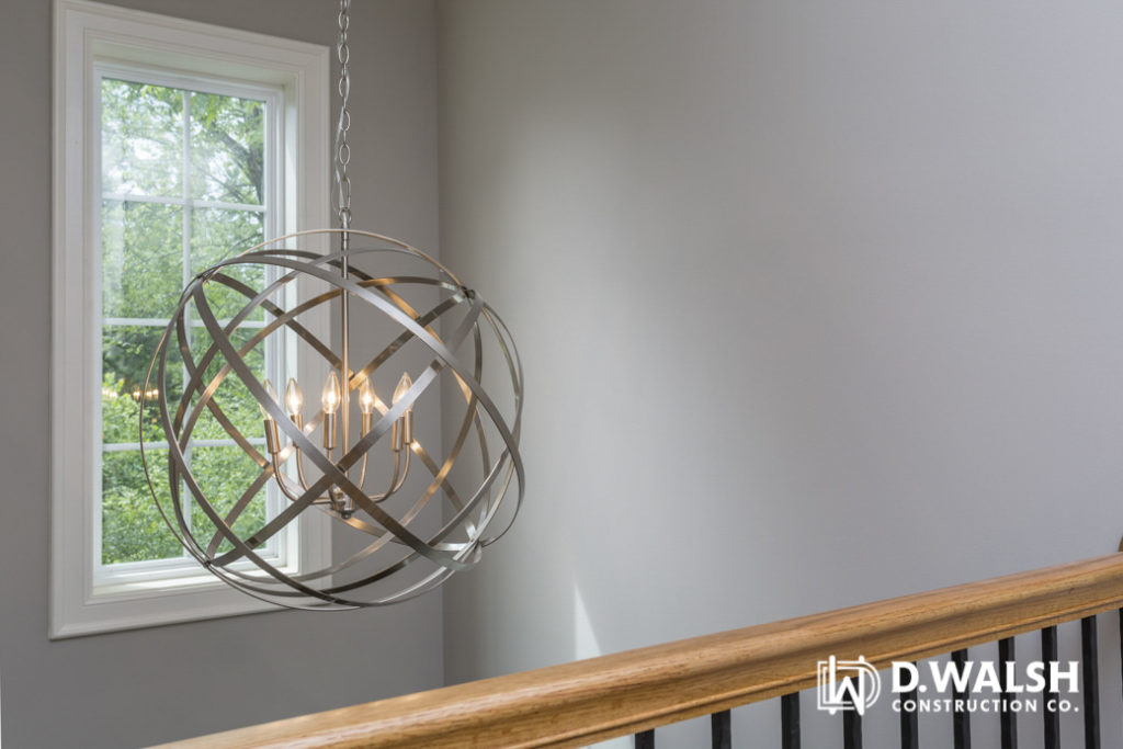 D Walsh Chandelier and Stairs