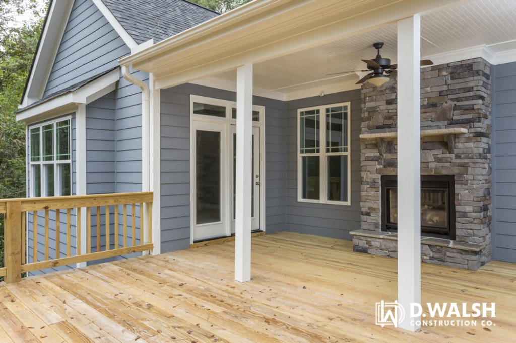 D Walsh Deck and Outdoor Fireplace