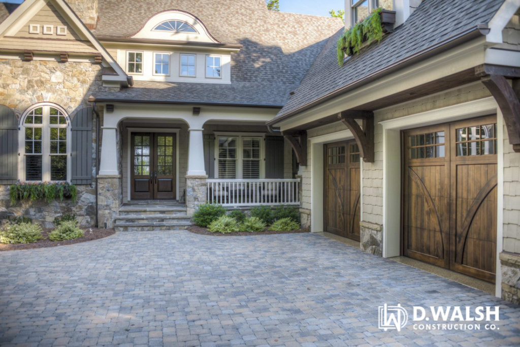 D Walsh Exterior Stone Driveway
