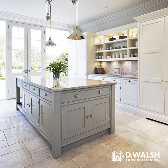 D Walsh Kitchen with Pendant Lighting