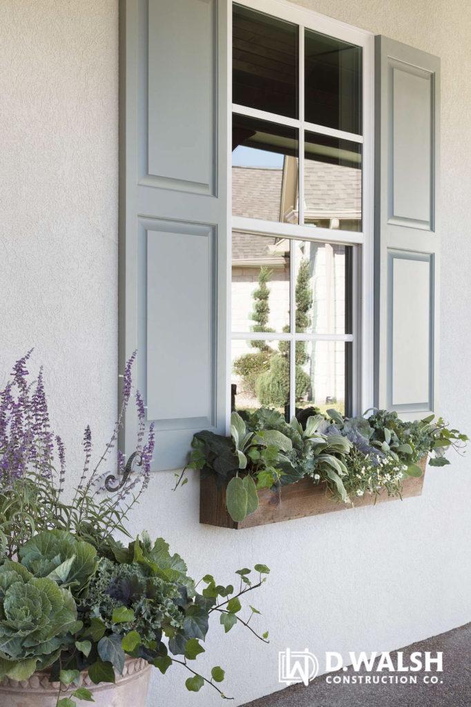 D Walsh Exterior Detail Window Box