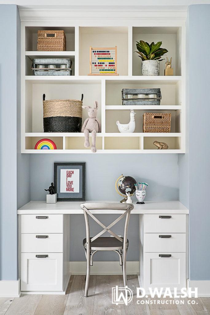 D Walsh Built-In Desk Kid's Room