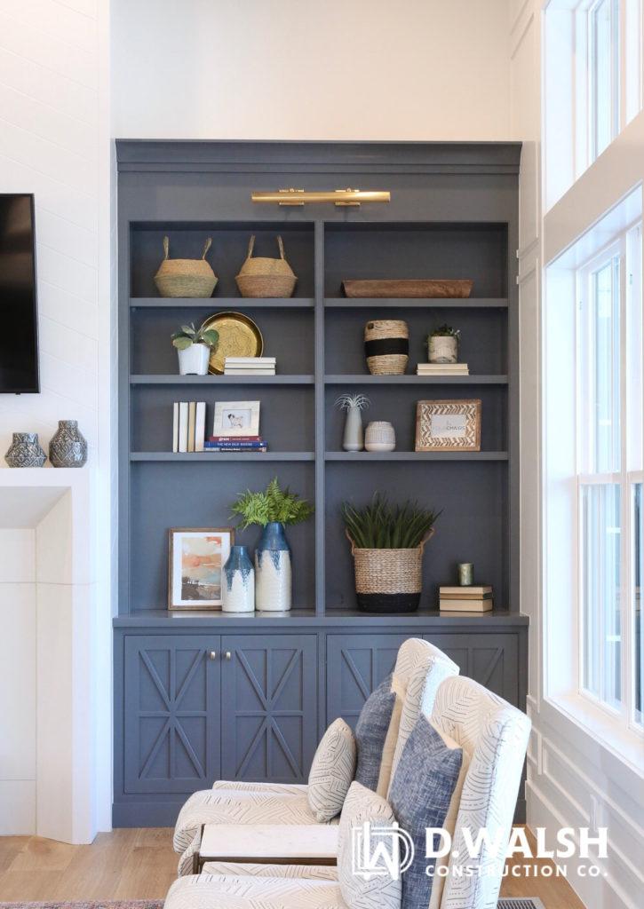 D Walsh Bookcase Built-ins